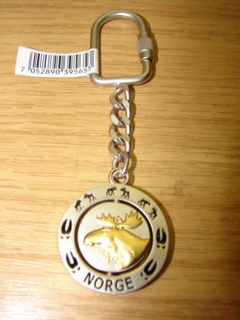 Schlüsselanhänger Elch