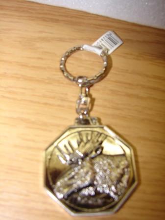 Schlüsselanhänger Elch 2