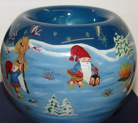 Teelicht Weihnachtsfeuer