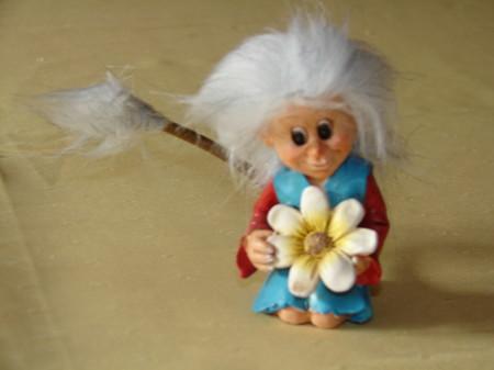 Marlène verzaubert gerne Blumen 13cm