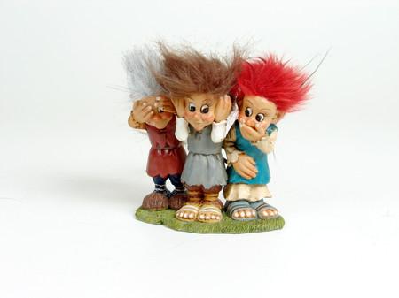 Helle, Henning und Heljar, das jünste Trio 12cm/12cm