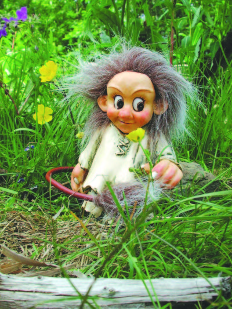 Ronja (gross) das kleine Troll - Fräulein 16cm