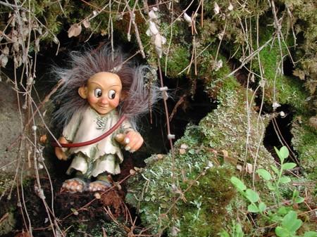 Ronja (klein) das kleine Troll - Fräulein 8cm