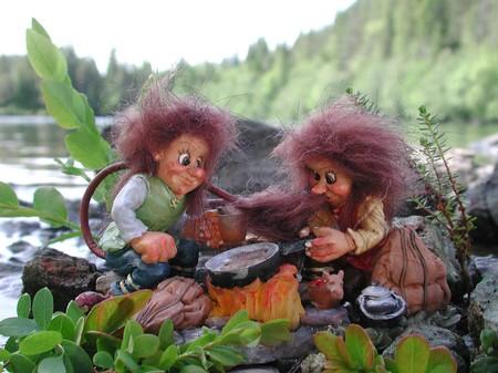 Gaute und Gisle, die Trolltrünkelieferanten 8cm/4cm