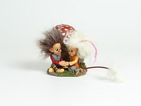 Vetle und Tyra die Pilzesucher 13cm