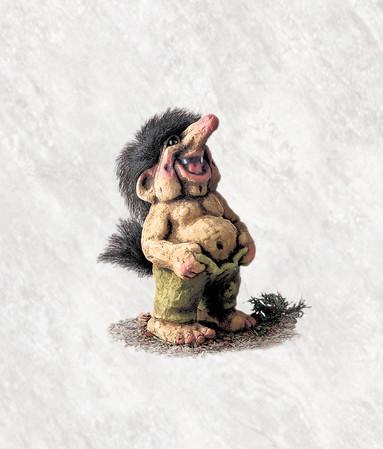 """Troll """"erleichtert"""" 16cm"""