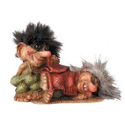Troll Beschützer der Trollfrau 11cm