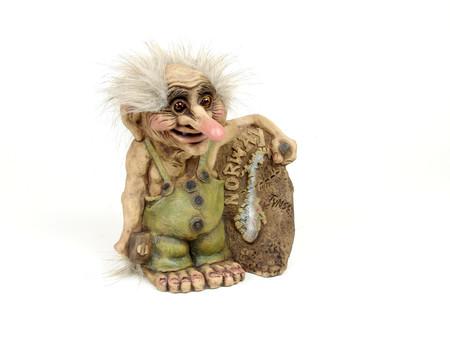 Troll der Bildhauer 18cm