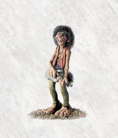 Troll Rockmusiker 20cm