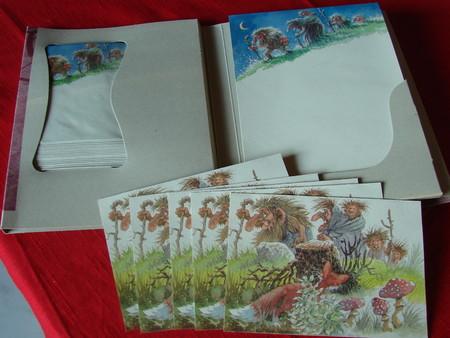 Briefpapier Set A5 25 Blätter, 20 Couverts, 5 Doppelkarten