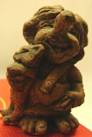 Ziegelsteinfigur 01 mittel
