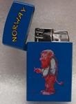Gasfeuerzeug, Troll (blau)