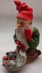 Urgrossvater Edvard mit Weihnachtsmaus 12/7cm