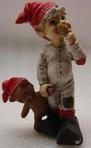 Olav kleiner Träumer mit Teddybär 10cm