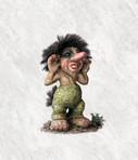 Troll Trainer / Schiedsrichter 16cm