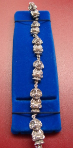 Troll Armband 17cm (830er Silber)