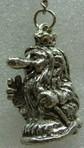 Schlüsselanhänger aus Zinn, Trollkönig
