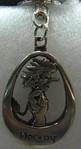 Schlüsselanhänger aus Metall, Troll