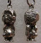 Schlüsselanhänger aus Zinn, Trollboys